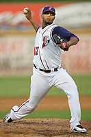 Bazardo, Yorman 4082.jpg.  PCL baseball featuring the Tacoma Rainers at Round Rock Express at Dell Diamond on August 5th 2009 in Round Rock, Texas. Photo by Andrew Woolley.