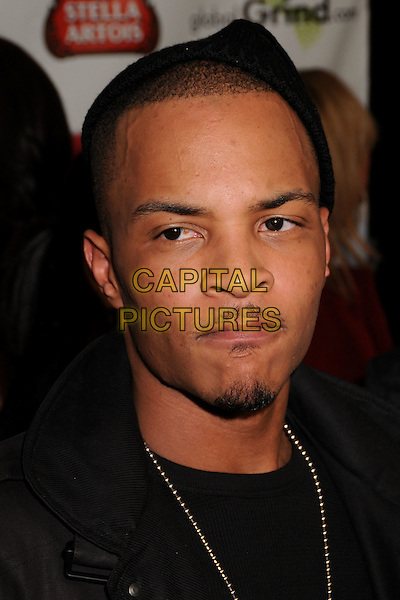 T.I. (Clifford Joseph Harris Jr) (T.I.P.).2009 Grammy Awards Post Party at a Private Residence, Beverly Hills, California, USA..February 8th, 2009.headshot portrait goatee facial hair .CAP/ADM/BP.©Byron Purvis/AdMedia/Capital Pictures.