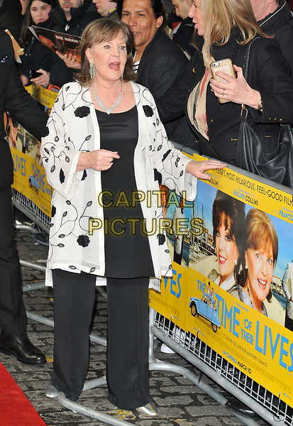 Pauline Collins at the &quot;The Time of Their Lives&quot; world film premiere, Curzon Mayfair cinema, Curzon Street, London, England, UK, on Wednesday 08 March 2017.<br /> CAP/CAN<br /> &copy;CAN/Capital Pictures
