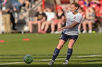 Bridgeview, IL, USA - Sunday, May 29, 2016: Sky Blue FC defender Christie Rampone (3) before a regular season National Women's Soccer League match between the Chicago Red Stars and Sky Blue FC at Toyota Park. The game ended in a 1-1 tie.