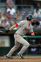 July 26 2009: Kyle Greene of the Visalia Rawhide during game against the Inland Empire 66'ers at Arrowhead Credit Union Park in San Bernardino,CA..Photo by Larry Goren/Four Seam Images