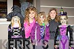witches l-r: Chloe O'Brien, Megan O'Brien, Janeve Browne, Bronagh Brosnan and Chloe Mangan Knocknaghoshel at the Knocknagoshel Halloween festival on Sunday night