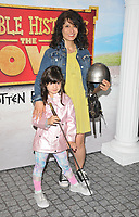"Shappi Khorsandi and her daughter at the ""Horrible Histories: The Movie - Rotten Romans"" world film premiere, Odeon Luxe Leicester Square, Leicester Square, London, England, UK, on Sunday 07th July 2019.<br /> CAP/CAN<br /> ©CAN/Capital Pictures"