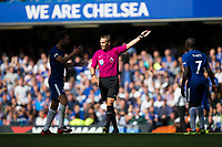 Referee Craig Pawson<br /> <br /> Photographer Craig Mercer/CameraSport<br /> <br /> The Premier League - Chelsea v Burnley - Saturday August 12th 2017 - Stamford Bridge - London<br /> <br /> World Copyright &copy; 2017 CameraSport. All rights reserved. 43 Linden Ave. Countesthorpe. Leicester. England. LE8 5PG - Tel: +44 (0) 116 277 4147 - admin@camerasport.com - www.camerasport.com
