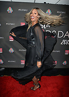 LOS ANGELES, CA- NOV. 30: Laverne Cox at the 30th Anniversary AIDS Healthcare Foundation Concert at the Shrine Auditorium in Los Angeles on November 30, 2017 Credit: Koi Sojer/Snap'N U Photos/Media Punch