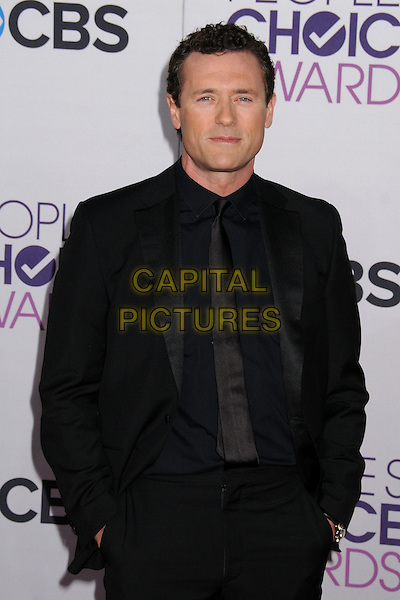 Jason O'Mara.People's Choice Awards 2013 - Arrivals held at Nokia Theatre L.A. Live, Los Angeles, California, USA..January 9th, 2013.half length black suit .CAP/ADM/BP.©Byron Purvis/AdMedia/Capital Pictures.
