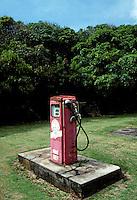 Abandoned gas pump on Molokai - 1995