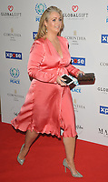 Hayley McQueen at the Football For Peace Initiative Dinner by Global Gift Foundation, Corinthia Hotel, Whitehall Place, London, England, UK, on Monday 08th April 2019.<br /> CAP/CAN<br /> ©CAN/Capital Pictures