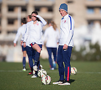 USWNT Training, Friday, February 27, 2015