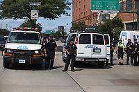 NOVA YORK, EUA, 10.08.2019 - PROTESTO-EUA - Manifestantes presos durante protesto contra o ICE em Nova York nos Estados Unidos neste sábado, 10. (Foto: Vanessa Carvalho/Brazil Photo Press)