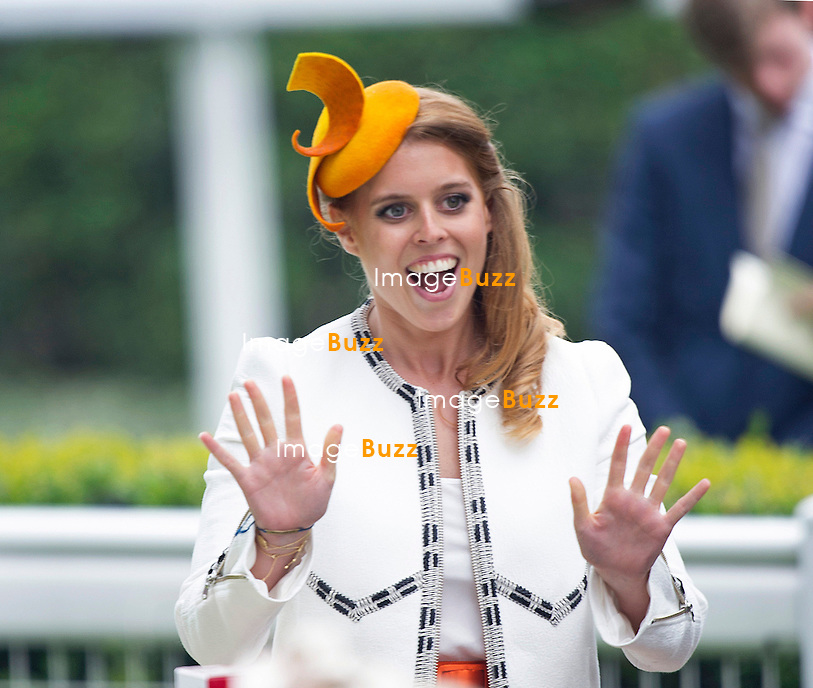 ROYAL ASCOT 2014 LADIES DAY - PRINCESS BEATRICE<br /> The Queen, Duke of Edinburgh, Princes Andrew and Harry Prince Harry, Princesses Anne, Eugenie and Beatrice in attendance on the LadiesDay of the 4-day Royal Ascot Race Meeting.<br /> United Kingdom, Ascot, June 19, 2014.