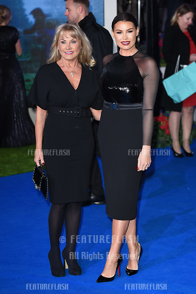 "LONDON, UK. December 12, 2018: Carol & Jessica Wright at the UK premiere of ""Mary Poppins Returns"" at the Royal Albert Hall, London.<br /> Picture: Steve Vas/Featureflash"