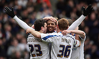 PICTURE BY BEN DUFFY/SWPIX - Leeds United celebration.