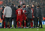 Jurgen Klopp manager of Liverpoolinstructs his players during the UEFA Champions League match at Anfield, Liverpool. Picture date: 11th March 2020. Picture credit should read: Darren Staples/Sportimage