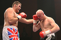 Tyson Fury defeats Scott Belshaw in a Heavyweight Boxing contest at the Colosseum, Watford, Hertforshire, promoted by Mick Hennessy / Hennessy Sports - 23/05/09 -