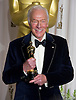 "CHRISTOPHER PLUMMER.winner of the Best Supporting Actor Award at the 84th Academy Awards, Kodak Theatre, Hollywood, Los Angeles_26/02/2012.Mandatory Photo Credit: ©Dias/Newspix International..**ALL FEES PAYABLE TO: ""NEWSPIX INTERNATIONAL""**..PHOTO CREDIT MANDATORY!!: NEWSPIX INTERNATIONAL(Failure to credit will incur a surcharge of 100% of reproduction fees)..IMMEDIATE CONFIRMATION OF USAGE REQUIRED:.Newspix International, 31 Chinnery Hill, Bishop's Stortford, ENGLAND CM23 3PS.Tel:+441279 324672  ; Fax: +441279656877.Mobile:  0777568 1153.e-mail: info@newspixinternational.co.uk"