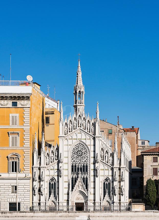 The Chiesa del Sacro Cuore di Gesù in Prati, Rome, Italy