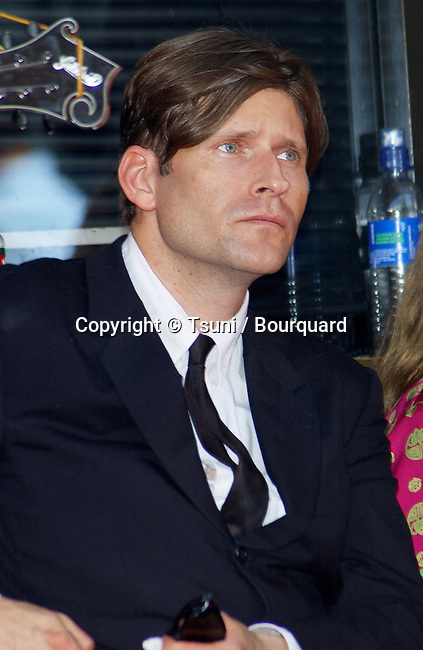 Crispin Glover came for the ceremony honoring Nicolas Cage with  hand and  footprint at the Chinese Theatre in Los Angeles. August  14, 2001  GloverCrispin001.jpg