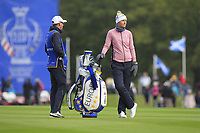 Anna Nordqvist of Team Europe on the 1st fairway during Day 2 Foursomes at the Solheim Cup 2019, Gleneagles Golf CLub, Auchterarder, Perthshire, Scotland. 14/09/2019.<br /> Picture Thos Caffrey / Golffile.ie<br /> <br /> All photo usage must carry mandatory copyright credit (© Golffile | Thos Caffrey)
