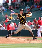 Evan Miller - San Diego Padres 2020 spring training (Bill Mitchell)