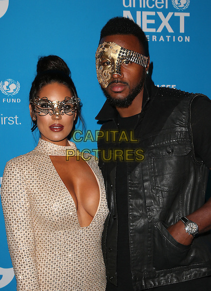 LOS ANGELES, CA - OCTOBER 27: Carissa Rosario, James Anderson at the Fourth Annual UNICEF Masquerade Ball Los Angeles at Clifton's Cafeteria in Los Angeles, California on October 27, 2016. <br /> CAP/MPI/FS<br /> &copy;FS/MPI/Capital Pictures