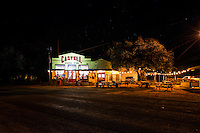 Late Saturday night we came upon the Castell General Store out west of Llano.  We drove by and then turned around and came back because we loved the looks of the place with all the  lights outside and inside giving a festive look so we took the shot.  While we were taking the photo a guy came over to get more beer out of his truck and told us about what a hoppin place this was on Friday and Saturdays and he also stated that they had the best burger around the area. It was closing up so we will have to find out about the burger another time.