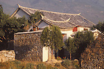 China, a Bai house in Dali, Yunnan Province