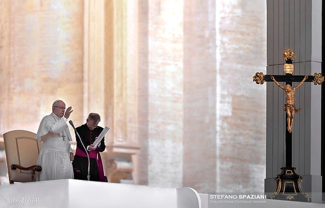 Pope Francis special Jubilee Audience at Saint Peter's Square at the Vatican on June 30, 2016