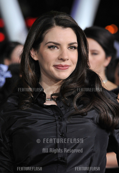 "Twilight series author Stephenie Meyer at the world premiere of her movie ""The Twilight Saga: Breaking Dawn - Part 2"" at the Nokia Theatre LA Live..November 12, 2012  Los Angeles, CA.Picture: Paul Smith / Featureflash"