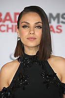 LOS ANGELES, CA - OCTOBER 30: Mila Kunis at the Los Angeles Premiere of A Bad Mom's Christmas at the Regency Village Theater Westwood in Los Angeles, California on October 30, 2017. Credit: Faye Sadou/MediaPunch