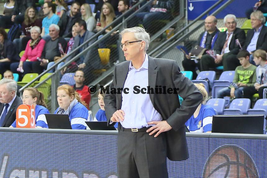 Trainer Gordon Herbert (Skyliners) - Fraport Skyliners vs. BC Enisey, Viertelfinale EuroChallenge, Fraport Arena Frankfurt