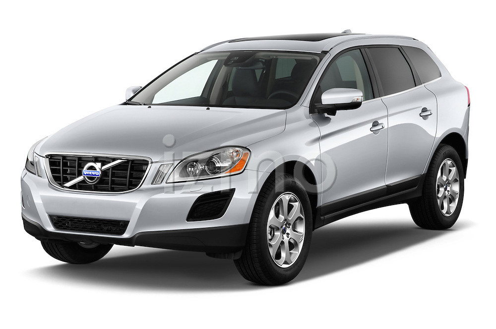 Front three quarter view of a 2013 Volvo XC60