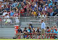 BOYDS, MD - April 13 2014: Washington Spirit v Western New York Flash in a NWSL match at Maryland Sportsplex, in Boyds, Maryland.The Flash won 3-1.