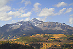 Wilson Peak in the San Juan Mountains near Telluride, Colorado, USA.