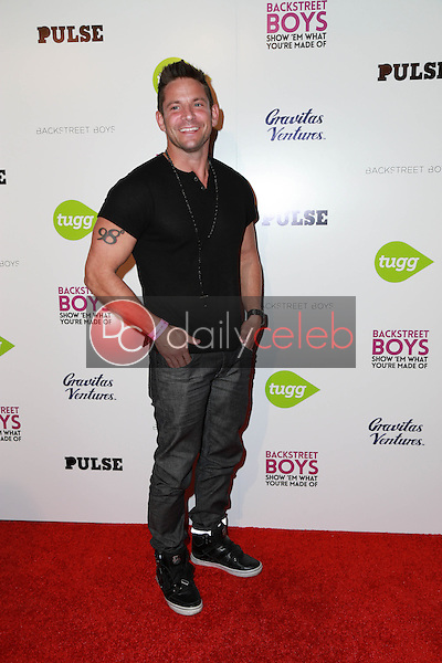 """Jeff Timmons<br /> at the Backstreet Boys """"Show 'Em What You're Made Of"""" Premiere, Arclight, Hollywood, CA 01-29-15<br /> David Edwards/DailyCeleb.com 818-249-4998"""