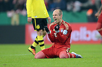 Fussball DFB Pokal 2012/13: Bayern Muenchen - Dortmund