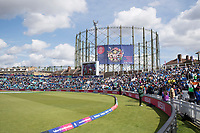 A general view of the Oval during India vs Australia, ICC World Cup Cricket at The Oval on 9th June 2019