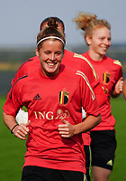 20200911 - TUBIZE , Belgium : Laura Deloose pictured during a training session of the Belgian Women's National Team, Red Flames , on the 11th of September 2020 in Tubize. PHOTO SEVIL OKTEM | SPORTPIX.BE