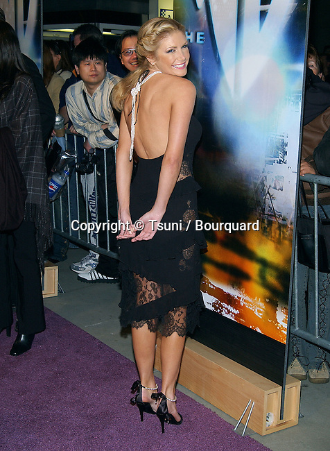 "Brande Rodderick (Surreal Life) arriving at ""The WB 2003 Winter TCA Tour Party"" at Hollywood and Highland in Los Angeles, Ca. Saturday, Jan. 11, 2003"