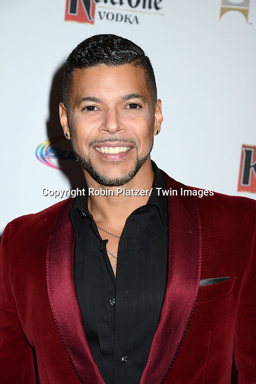 Wilson Cruz attends the 25th Annual GLAAD Media Awards at the Waldorf Astoria Hotel in New York City, NY on May 3, 2014.