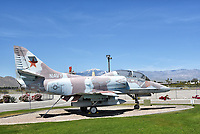 A-4 Skyhawk at the Palm Springs Air Museum