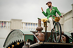 November 2, 2018: The Hendrick's Gin cart on Breeders' Cup World Championship Friday at Churchill Downs on November 2, 2018 in Louisville, Kentucky. Scott Serio/Eclipse Sportswire/CSM