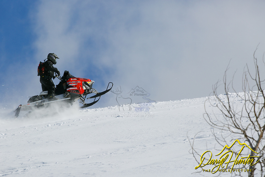 Snowmobiling, Wyoming