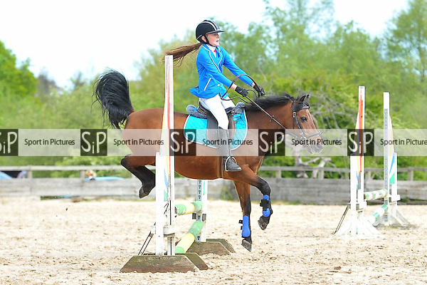 Class 1. Minimus. Eastminster Riding School. Essex. 04/05/2015. MANDATORY Credit Ellie Ingram/Sportinpictures - NO UNAUTHORISED USE - 07837 394578