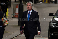 Sir Michael Fallon MP (Secretary of State for Defence).<br /> <br /> London, 12/06/2017. Today, Theresa May's reshuffled Cabinet met at 10 Downing Street after the General Election of the 8 June 2017. Philip Hammond MP - not present in the photos - was confirmed as Chancellor of the Exchequer. <br /> After 5 years of the Coalition Government (Conservatives &amp; Liberal Democrats) led by the Conservative Party leader David Cameron, and one year of David Cameron's Government (Who resigned after the Brexit victory at the EU Referendum held in 2016), British people voted in the following way: the Conservative Party gained 318 seats (42.4% - 13,667,213 votes &ndash; 12 seats less than 2015), Labour Party 262 seats (40,0% - 12,874,985 votes &ndash; 30 seats more then 2015); Scottish National Party, SNP 35 seats (3,0% - 977,569 votes &ndash; 21 seats less than 2015); Liberal Democrats 12 seats (7,4% - 2,371,772 votes &ndash; 4 seats more than 2015); Democratic Unionist Party 10 seats (0,9% - 292,316 votes &ndash; 2 seats more than 2015); Sinn Fein 7 seats (0,8% - 238,915 votes &ndash; 3 seats more than 2015); Plaid Cymru 4 seats (0,5% - 164,466 votes &ndash; 1 seat more than 2015); Green Party 1 seat (1,6% - 525,371votes &ndash; Same seat of 2015); UKIP 0 seat (1.8% - 593,852 votes); others 1 seat. <br /> The definitive turn out of the election was 68.7%, 2% higher than the 2015.<br /> <br /> For more info about the election result click here: http://bbc.in/2qVyNRd &amp; http://bit.ly/2s9ob51<br /> <br /> For more info about the Cabinet Ministers click here: https://goo.gl/wmRYRd
