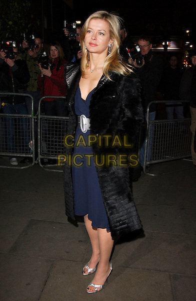 "LADY HELEN TAYLOR.""Not Another Burns Night"" Charity Dinner in aid of Clic Sargent Appeal held at the St Martins Lane Hotel, London, England, March 3rd 2008.full length blue dress black fur coat silver sandals shoes.CAP/ROS.?Steve Ross/Capital Pictures"