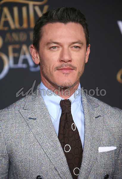 """02 March 2017 - Hollywood, California - Luke Evans. Disney's """"Beauty and the Beast' World Premiere held at El Capitan Theatre. Photo Credit: AdMedia"""