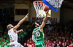 ****BETALBILD**** <br /> S&ouml;dert&auml;lje 2015-04-19 Basket SM-Final 1 S&ouml;dert&auml;lje Kings - Uppsala Basket :  <br /> S&ouml;dert&auml;lje Kings John Roberson g&ouml;r po&auml;ng under matchen mellan S&ouml;dert&auml;lje Kings och Uppsala Basket <br /> (Foto: Kenta J&ouml;nsson) Nyckelord:  S&ouml;dert&auml;lje Kings SBBK T&auml;ljehallen Basketligan SM SM-Final Final Uppsala Basket jubel gl&auml;dje lycka glad happy