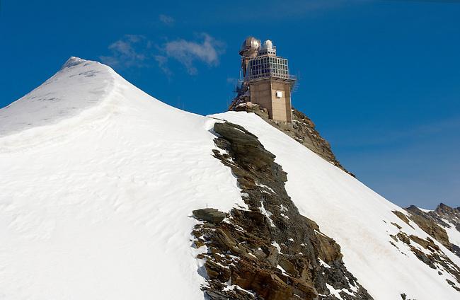 Jungfraujoch Sphinx observatory - Bernese Oberland Alps - Switzerland