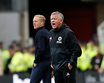 Chris Wilder manager of Sheffield Utd reacts during the Championship match at the Riverside Stadium, Middlesbrough. Picture date: August 12th 2017. Picture credit should read: Simon Bellis/Sportimage